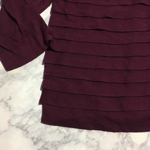 Banana Republic Sweaters - Banana Republic Tier Cardigan Sweater Burgundy